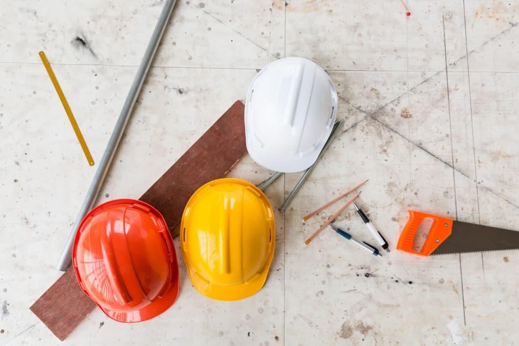 Chantier de construction equipment