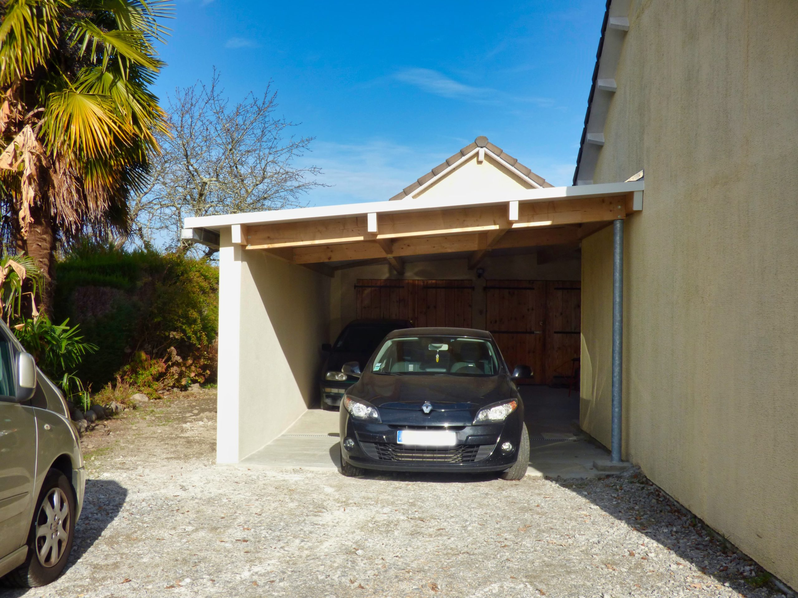 Garage extension terminée