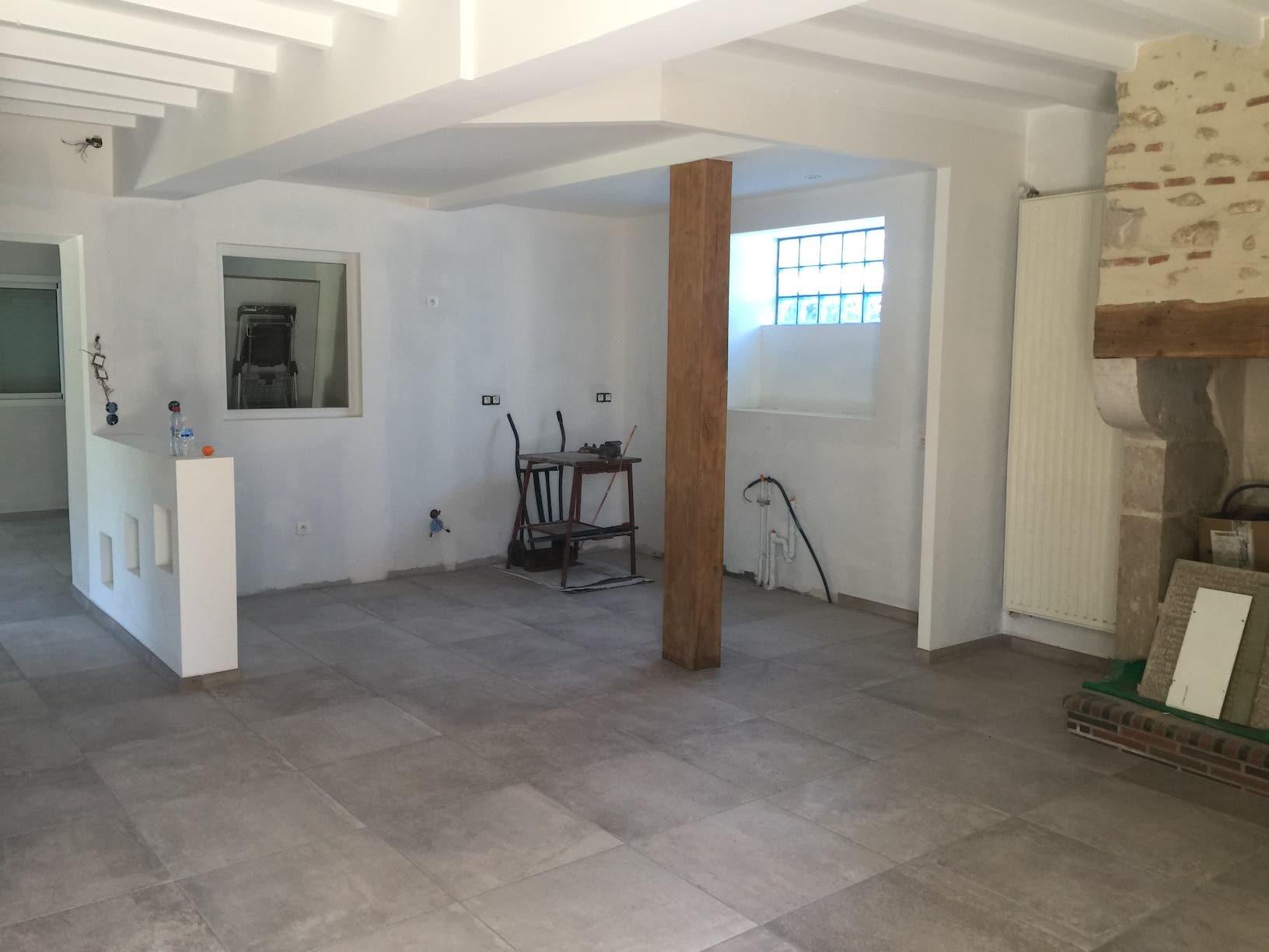 Nouveau carrelage Rénovation maison Bordes 4591 copie
