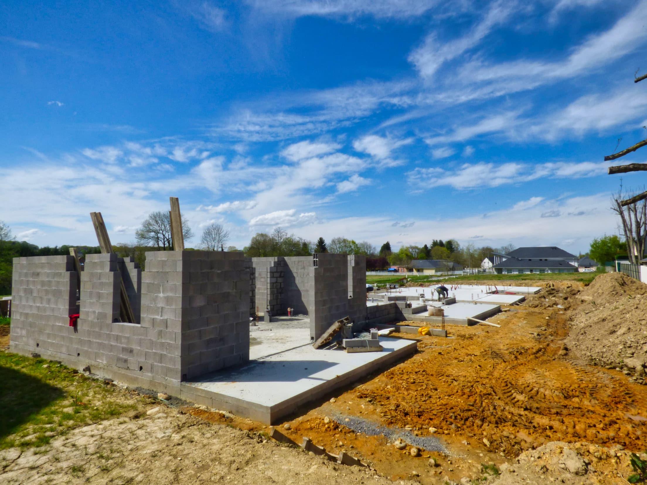 Construction Maisons jumelées morlaas 928